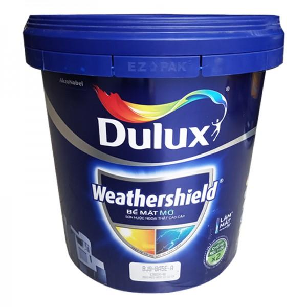 Sơn ngoại thất Dulux Weathershield bề mặt mờ BJ8 15L