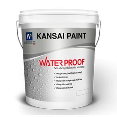 Sơn chống thấm ngoại thất Kansai Water Proof - 17kg