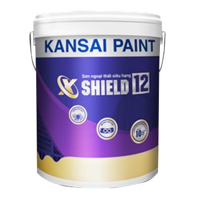 Sơn ngoại thất siêu hạng Kansai X-Shield 12 bảo vệ 10 năm - 5L
