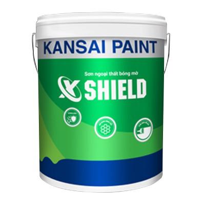 Sơn ngoại thất Kansai X-Shield (Bóng mờ) - 18L