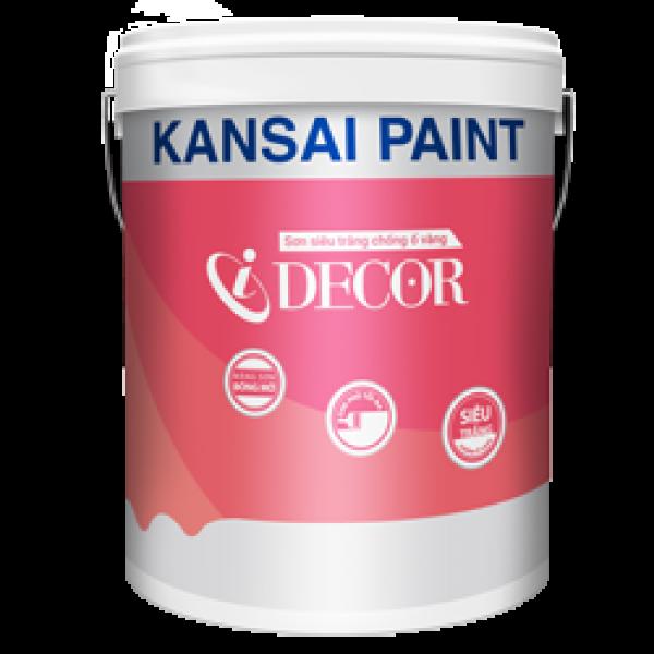 Sơn nội thất trắng trần Kansai I DECOR lon 5L