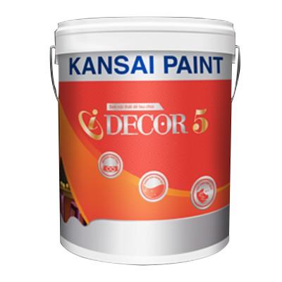 Sơn nội thất cao cấp lau chùi hiệu quả Kansai I Decor 5 (Bóng mờ) - 18L