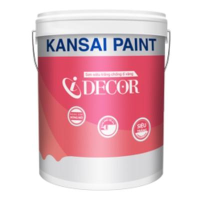 Sơn siêu trắng chống ố vàng Kansai I Decor - 18L