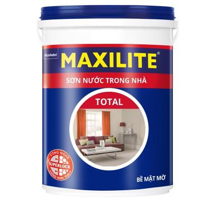 Sơn nước trong nhà MAXILITE TOTAL 30C Bề mặt Mờ - 5L