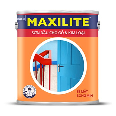 Sơn dầu cho bề mặt Gỗ và Kim loại MAXILITE - 3L