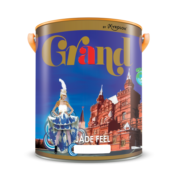 Sơn ngoại thất BÓNG MỜ Mykolor Grand Jade Feel LON 5L