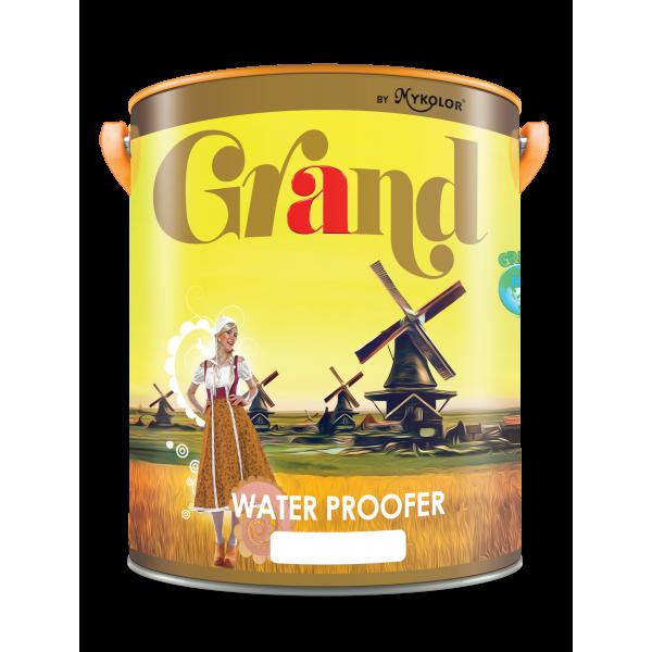 Sơn CHỐNG THẤM PHA XI MĂNG cao cấp Mykolor Grand Water Proofer LON 5L