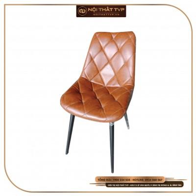 Ghế Solf-Rest cổ điển, khung chân sắt - bọc da cao cấp TVP