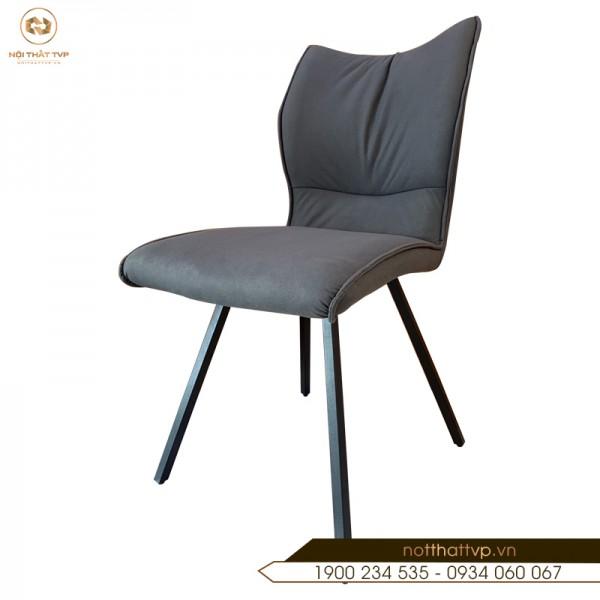 Ghế ăn phong cách Hàn Quốc, nỉ giả da cao cấp TVP - GA20 - Grey