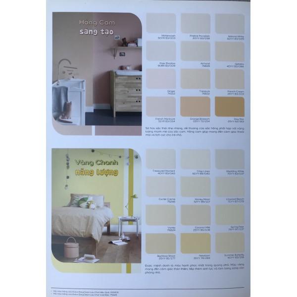 Bảng màu sơn Dulux Easy Clean