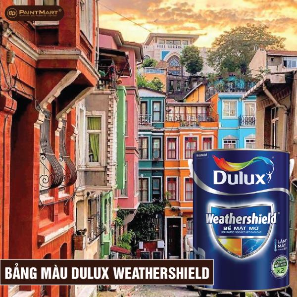 Bảng màu sơn Dulux Weathershield