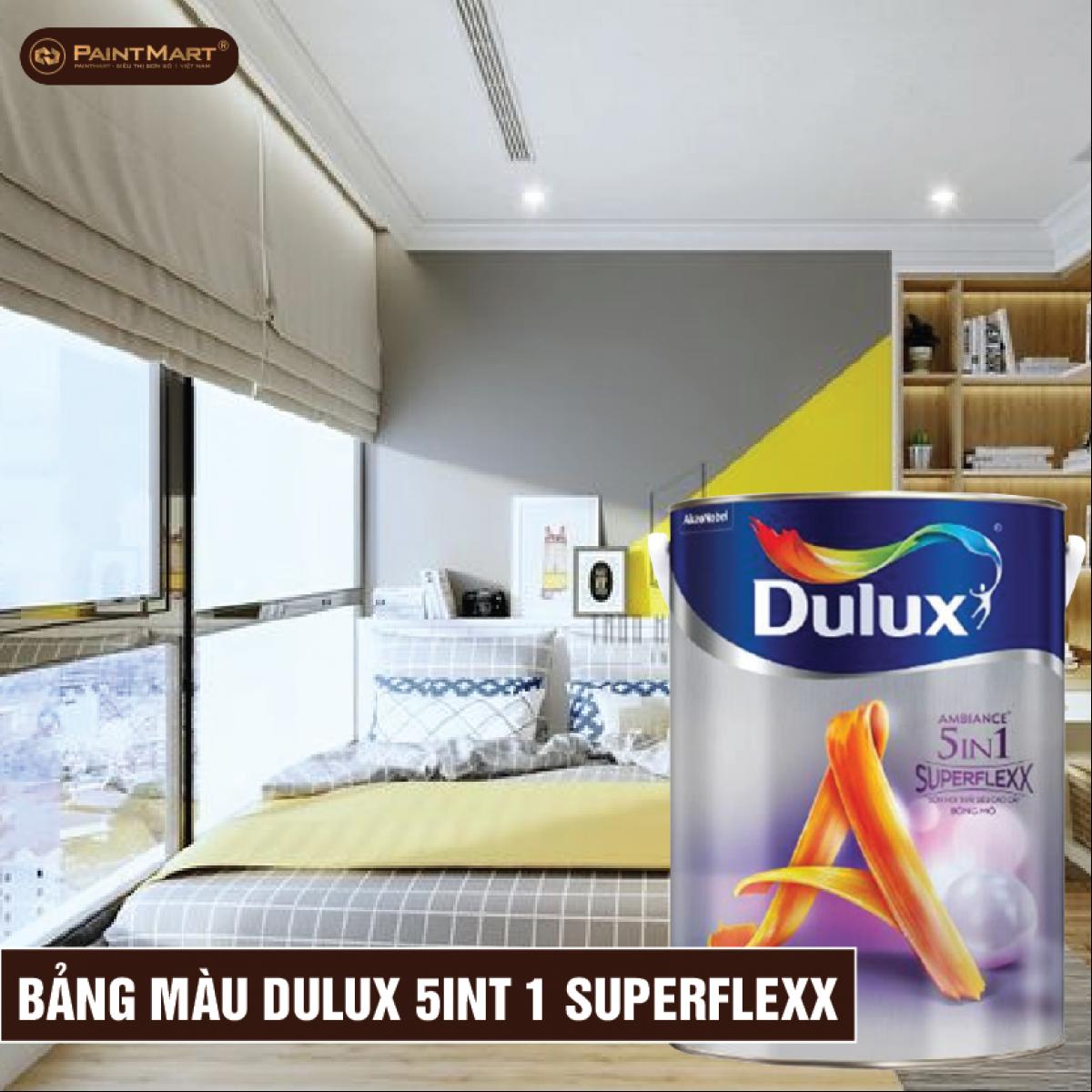 Bảng màu sơn Dulux 5 In 1 Superflexx