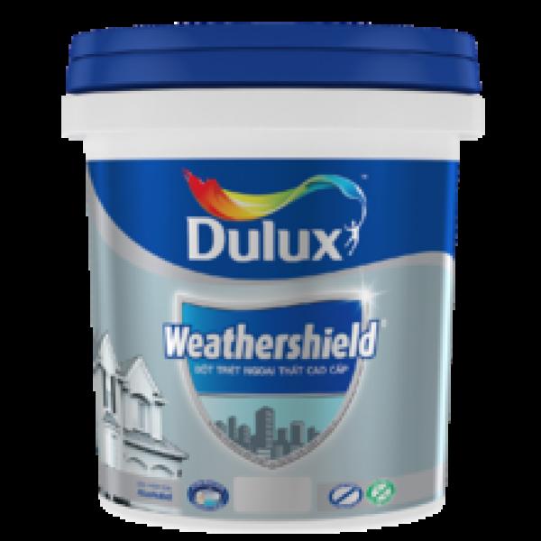 Bột trét tường ngoại thất Dulux Weather Shield – Thùng 25 kg