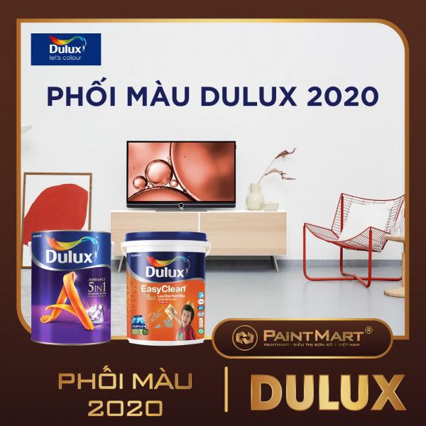 Xu hướng màu Dulux 2020