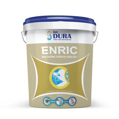 Sơn chống thấm Dura Enric chống thấm đa màu sắc - 18L
