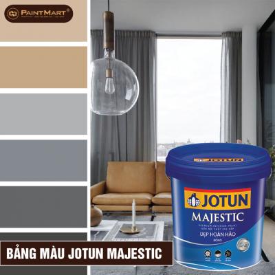 Bảng màu sơn nội thất Majestic