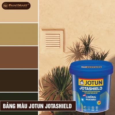 Bảng màu sơn ngoại thất Jotun Jotashield