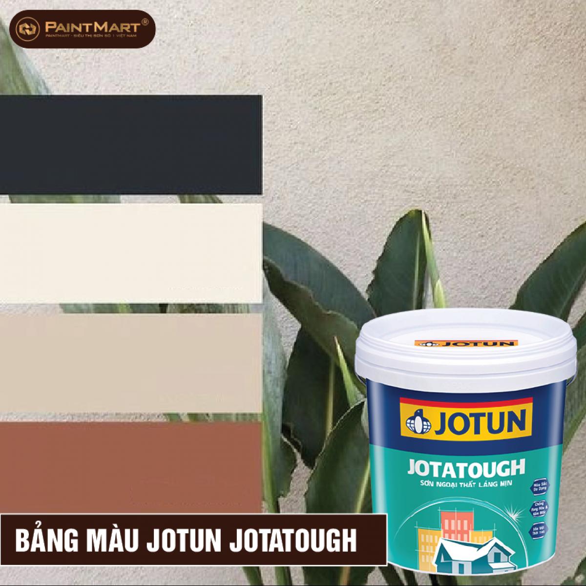 Bảng màu sơn ngoại thất Jotun Jotatough