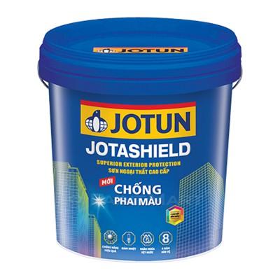 Sơn nước ngoại thất Jotun Jotashield chống phai màu mới lon 5L