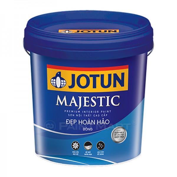 Sơn nước nội thất Jotun Majestic đẹp hoàn hảo (bóng) thùng 17L mới