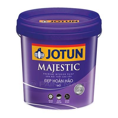 Sơn nước nội thất Jotun Majestic đẹp hoàn hảo bóng mờ lon 5L
