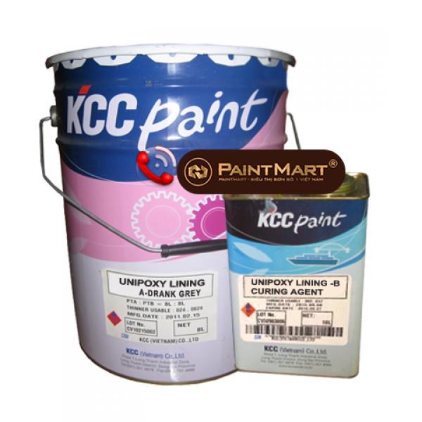 Sơn tự san phẳng Unipoxy Lining KCC màu chuẩn