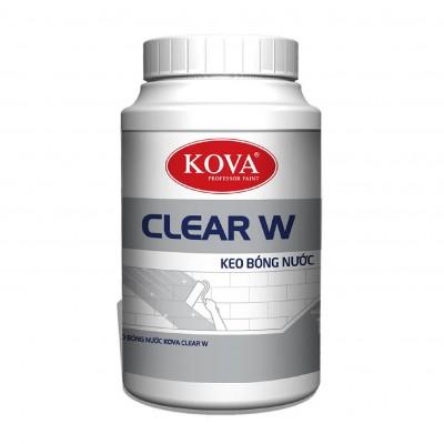 Keo bóng nước KOVA Clear W thùng 4KG