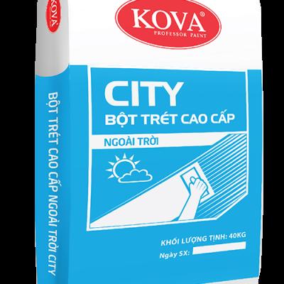 Bột trét tường ngoại thất Kova Wall Putty – 40 kg