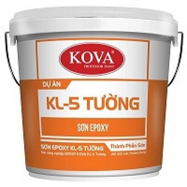 Sơn công nghiệp Epoxy Kova KL-5 tường kháng khuẩn