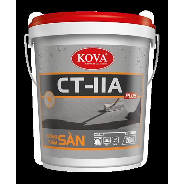Sơn chống thấm pha xi măng KOVA CT 11A  (SÀN) thùng 4Kg