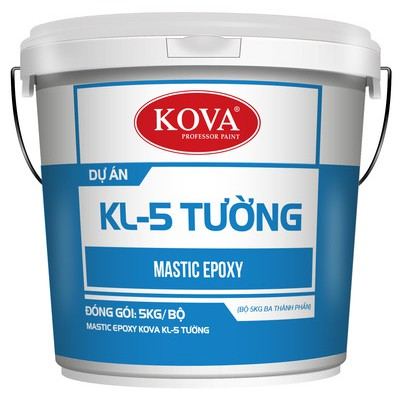 Mastic Epoxy Kova KL-5 tường