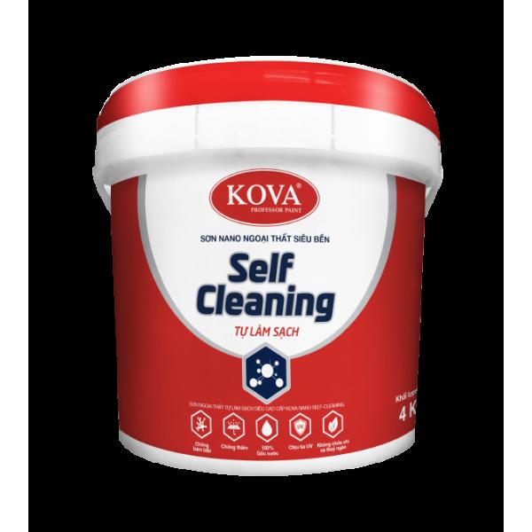 Sơn ngoại thất tự làm sạch Kova Nano Self-Cleaning bóng