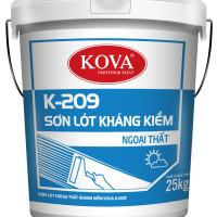 Sơn lót chống kiềm ngoại thất Kova K-209 THÙNG 5KG