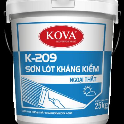 Sơn lót chống kiềm ngoại thất Kova K-209 THÙNG 25KG