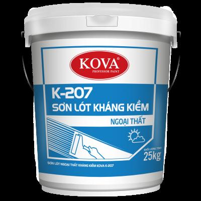 Sơn lót chống kiềm ngoại thất Kova K-207 thùng 25KG