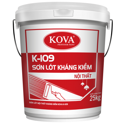 Sơn lót chống kiềm nội thất Kova K-109 THÙNG 25KG