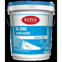 Sơn ngoại thất không bóng Kova K261 THÙNG 25KG