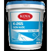 Sơn nước ngoài trời  không bóng Kova K265 THÙNG 25KG