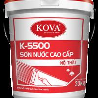 Sơn nước nội thất bán bóng cao cấp KOVA K-5500 THÙNG 4KG