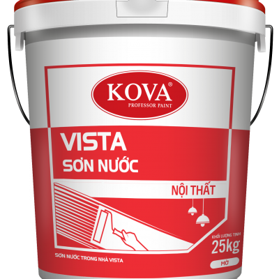 Sơn nước nội thất không bóng KOVA VISTA THÙNG 5KG