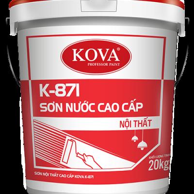 Sơn nước bóng cao cấp trong nhà Kova K-871 thùng 20KG