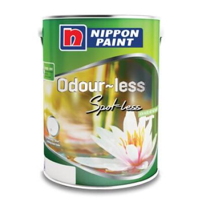 Sơn nội thất Nippon Odourless chống bám bẩn 5L