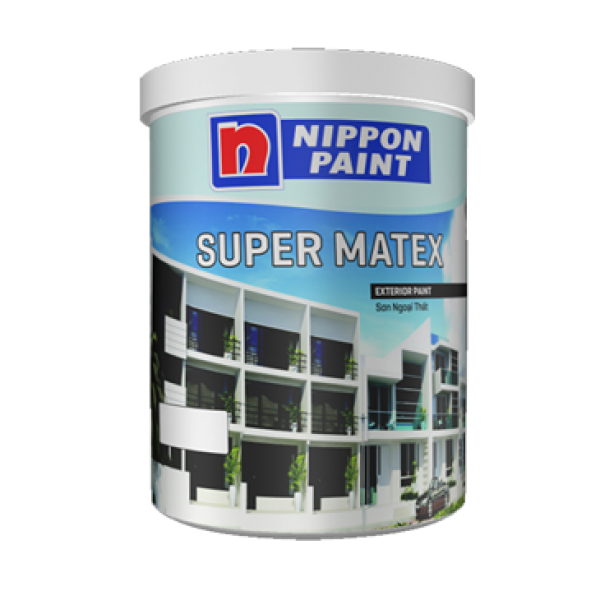 Sơn ngoại thất NIPPON SUPER MATEX 5L