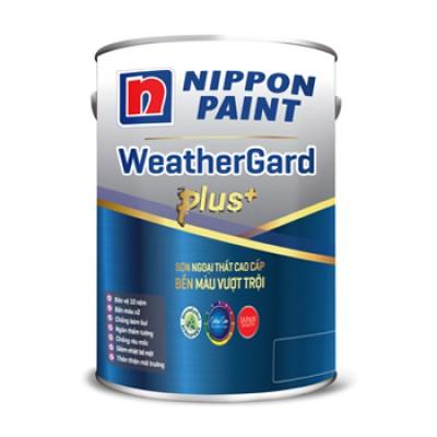 Sơn ngoại thất Nippon WeatherGard Plus 15L