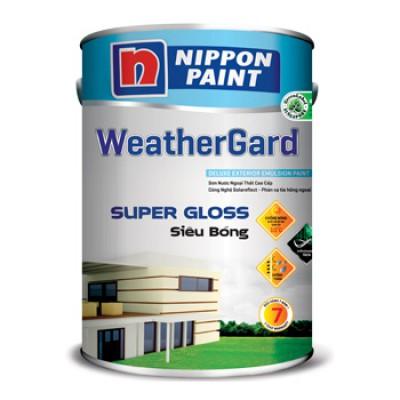 Sơn ngoại thất Nippon Weathergard siêu bóng 5L