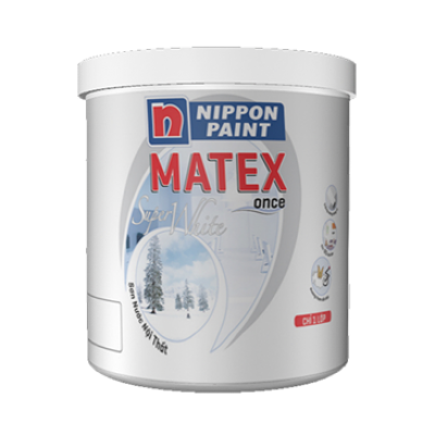 Sơn nội thất Nippon MATEX SUPER WHITE 4KG8