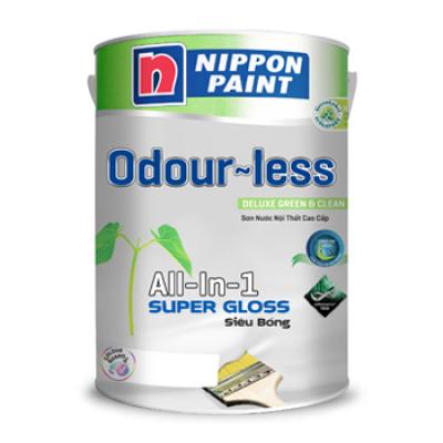 Sơn nội thất Nippon ODOURLESS siêu bóng 5L