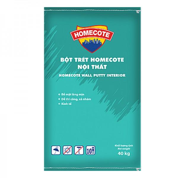 Bột trét nội thất cao cấp TOA HOMECOTE - 40kg