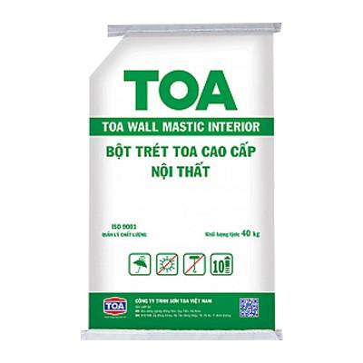 Bột trét nội thất cao cấp TOA WALL MASTIC - 40kg