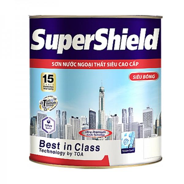 Sơn ngoại thất TOA SUPERSHIELD Siêu bóng - 3,785L
